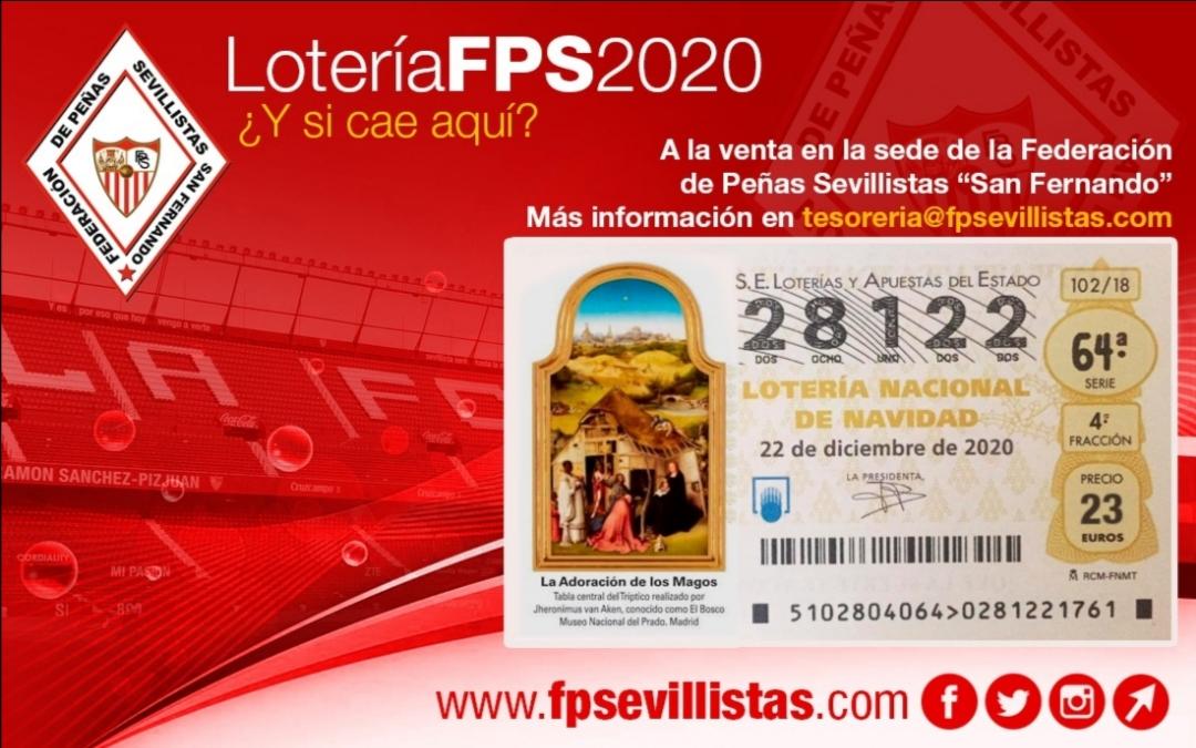 Venta lotería Federación Peñas Sevillistas «San Fernando»
