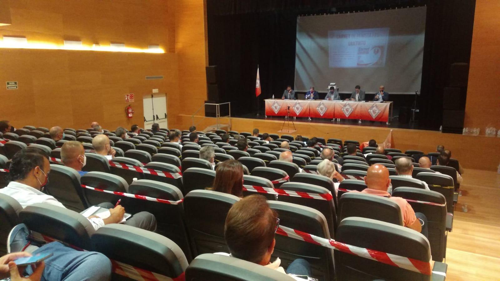 Asamblea Ordinaria y Extraordinaria celebradas en el día de ayer