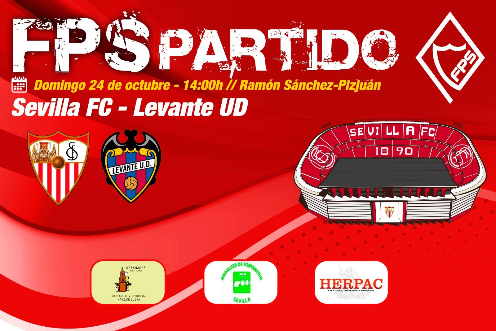 Entradas para el SevillaFC-Levante